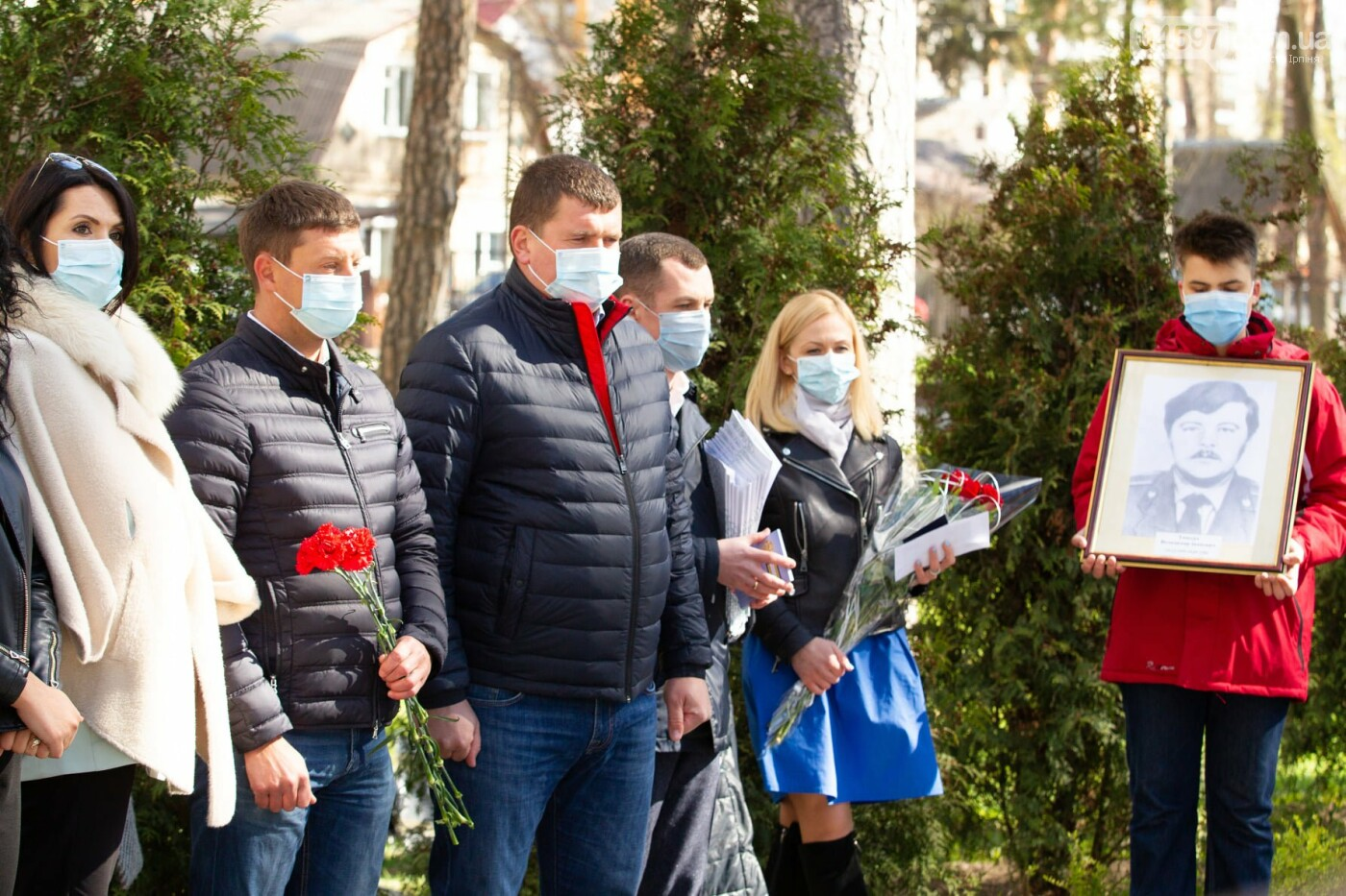 Ірпінь вшанував ліквідаторів Чорнобильської катастрофи