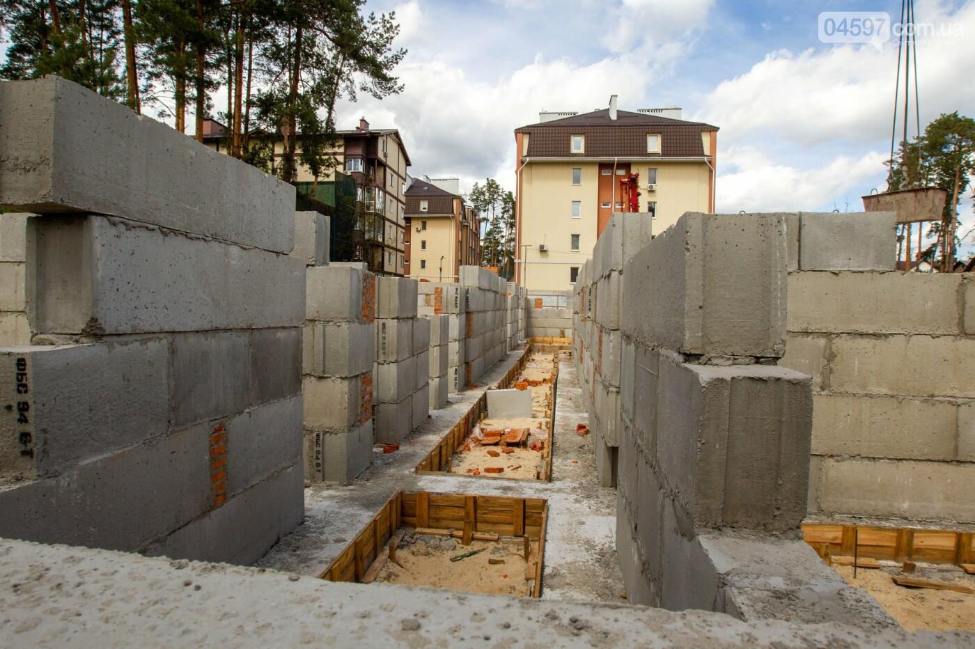"""Будівництво дитсадка """"Віночок"""". Фото О. Гриб"""
