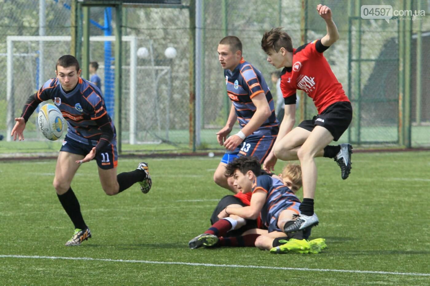 Ірпінчани здобули перемогу в першому турі чемпіонату України з регбі-7 серед юніорів , фото-4