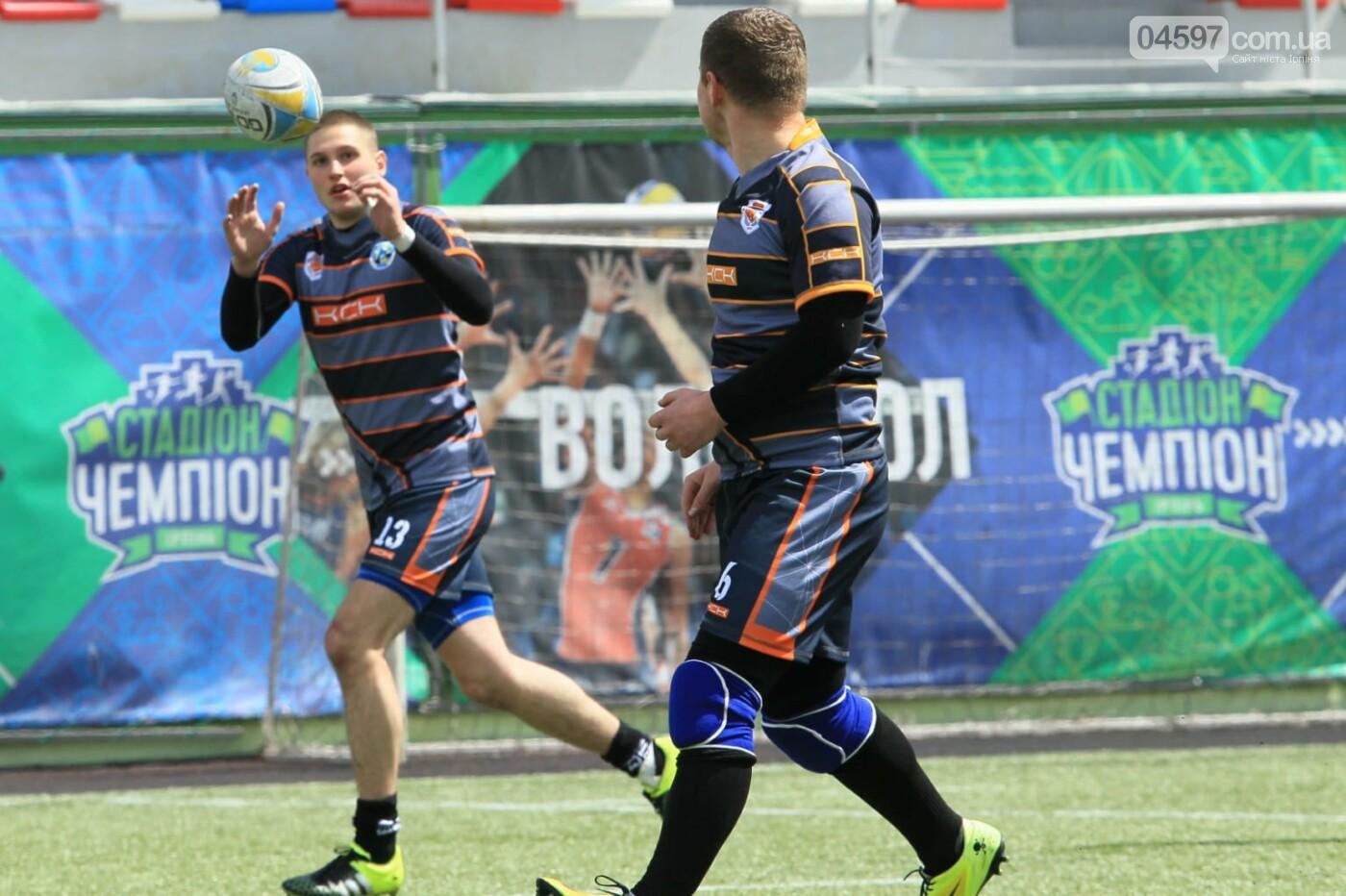 Ірпінчани здобули перемогу в першому турі чемпіонату України з регбі-7 серед юніорів , фото-2
