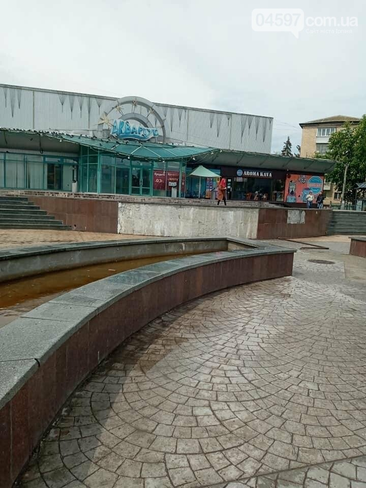 Бучанці жаліються на брудні фонтани