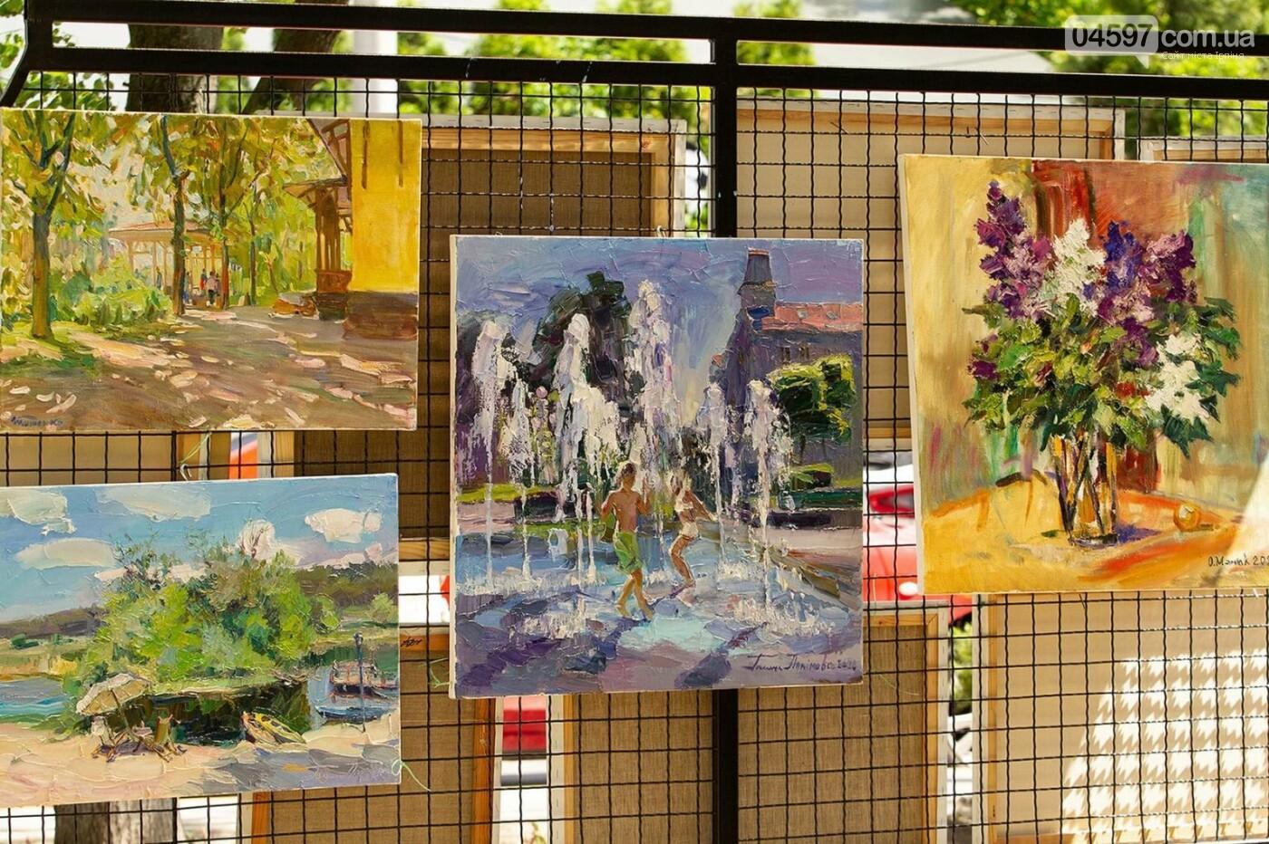 Мистецька алея в Ірпені, Київщина