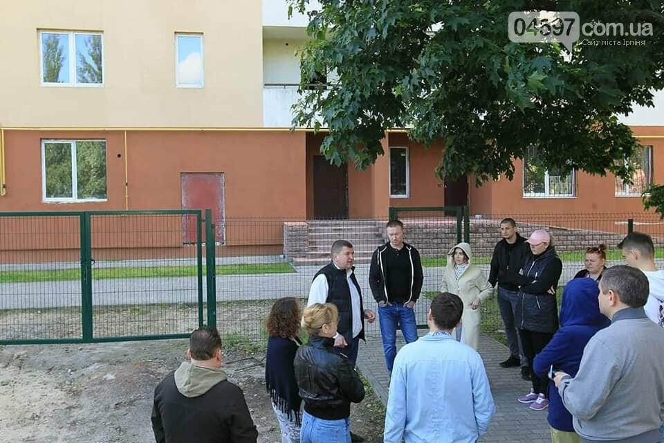 Реконструкція двору по вул. Котляревского. Фото О. Гриб