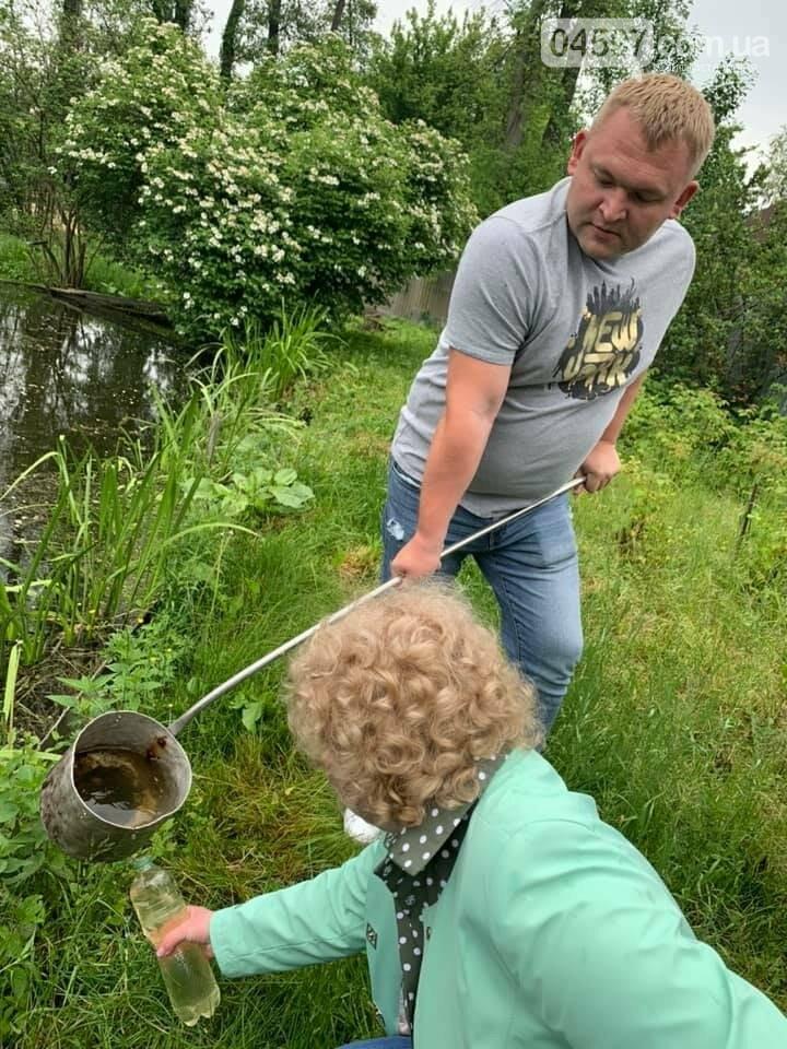 В Ірпені перевіряють якість води у водоймах