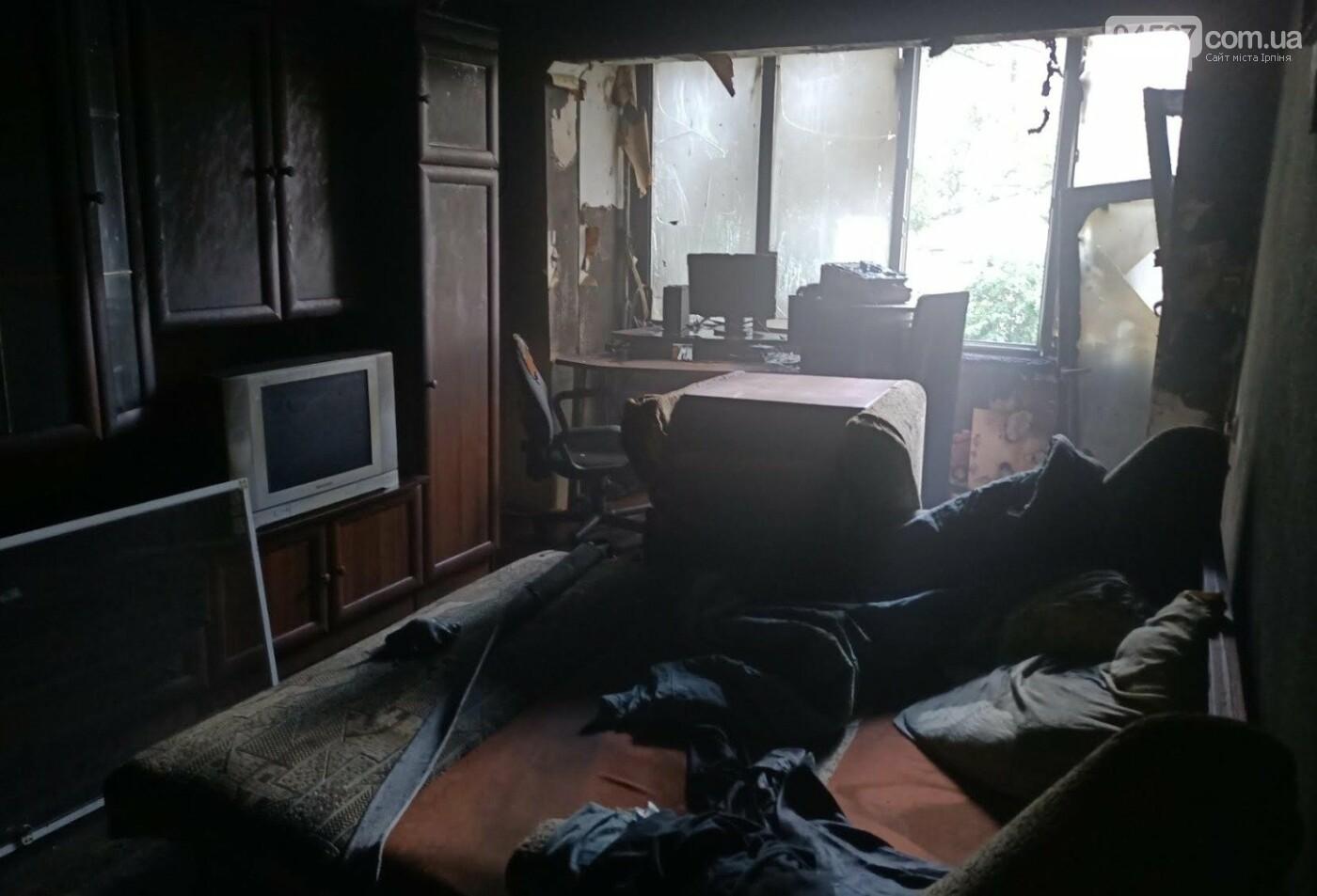 В Бучі під час пожежі загинув чоловік