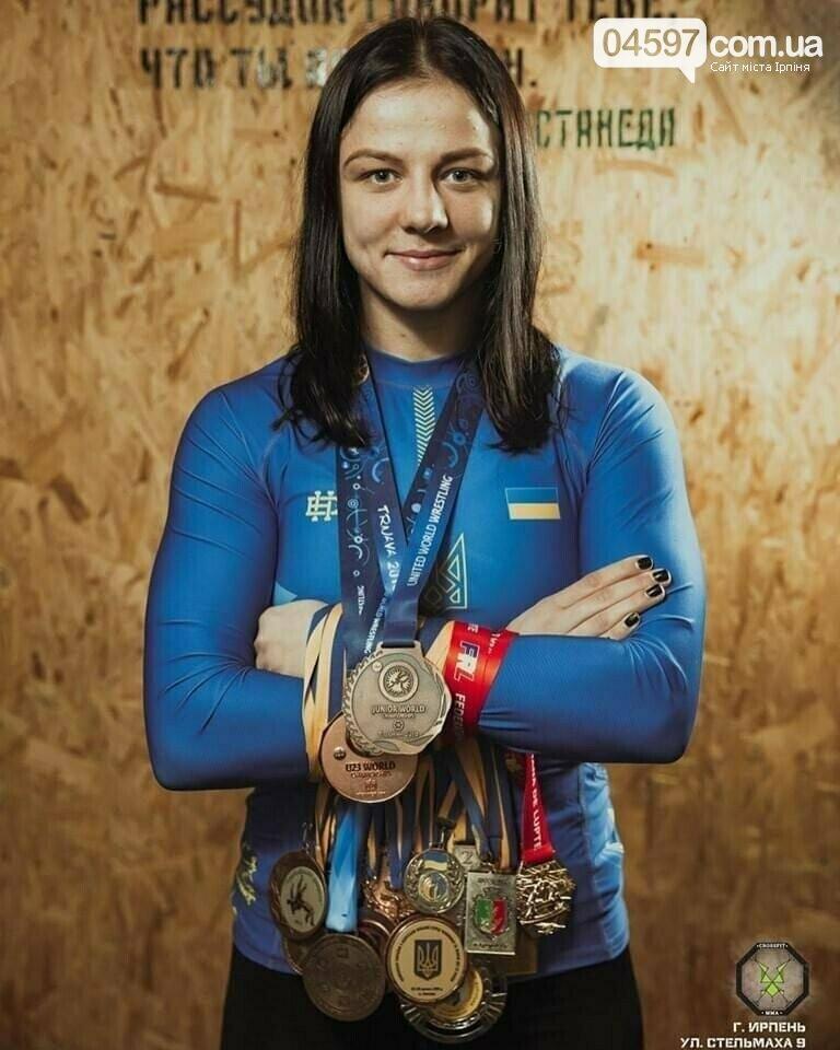 Борчиня з Ірпеня Ірина Коляденко