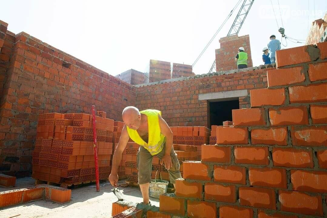 В Ірпені триває будівництво нового дитсадка Віночок