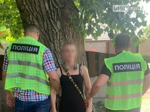 В Гостомелі затримали жінку з наркотиками