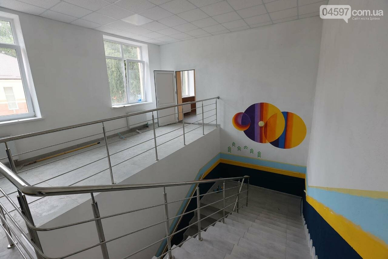 В Ірпені добудовують найбільший спортзал у громаді