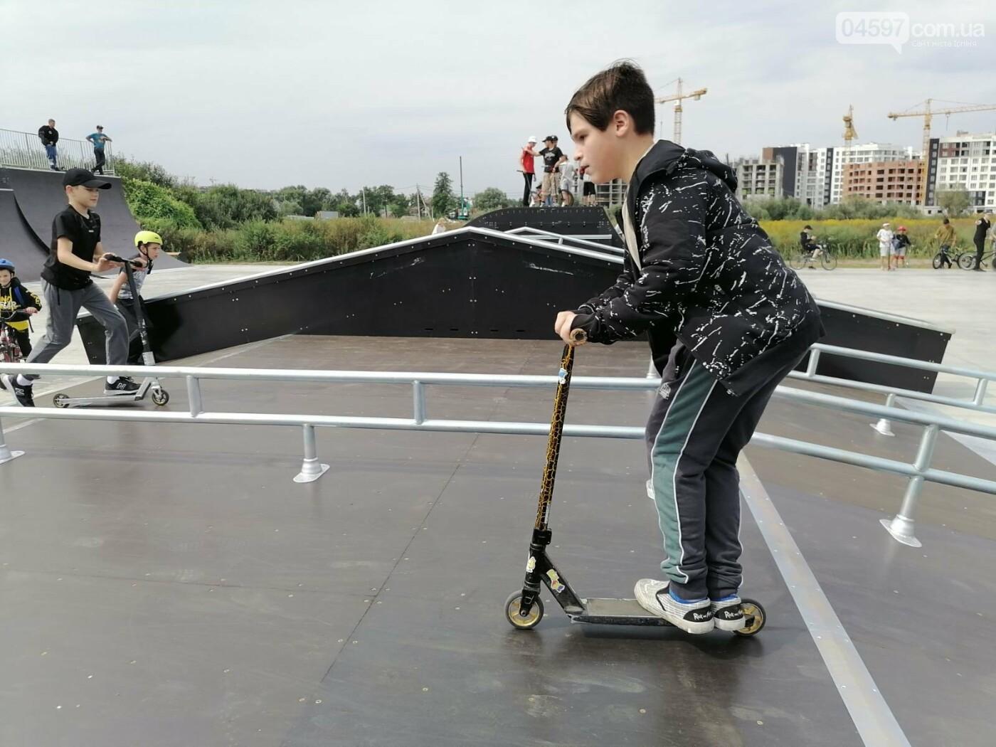 В Ірпені відкрили найбільший скейт-парк на Київщині