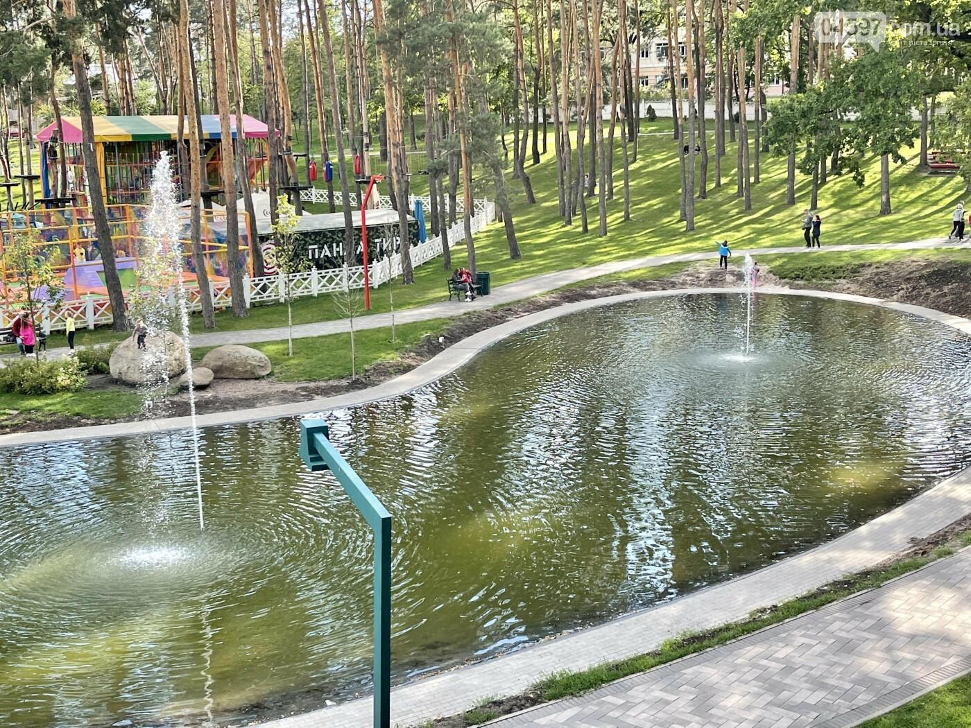 В Ірпені відновили озеро в парку