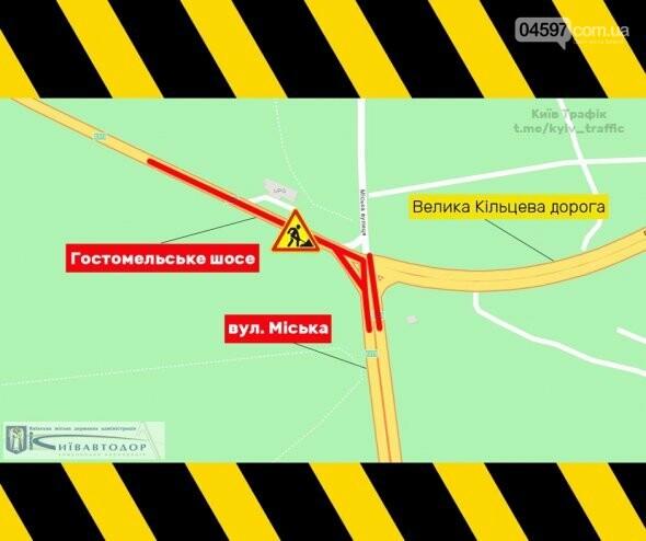Ремонт дороги на Гостомельському шосе