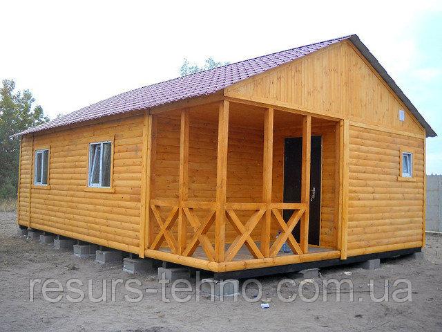 Одноэтажный дачный домик купить
